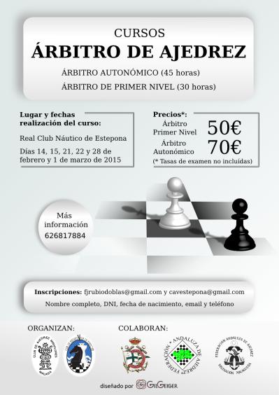 Cursos Arbitro de Ajedrez v2.1